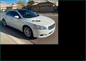 Price$1200 Nissan MAxima for Sale in San Francisco, CA