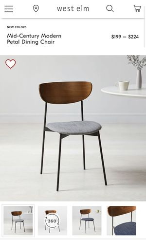 Dining chairs West elm for Sale in McLean, VA