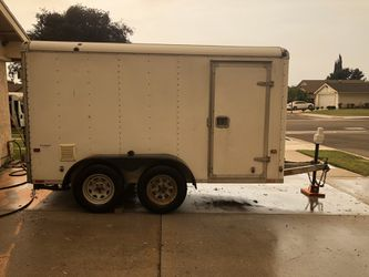 Wells Cargo 6x12 Cargo Box Trailer Original 1 owner for Sale in Artesia,  CA