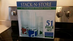 Storage Containers 51 Piece Set for Sale in Montpelier, MD