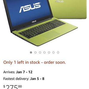 Asus Computer X502C for Sale in Orland Park, IL