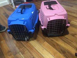 Two small cat kennel (s) for Sale in New York, NY