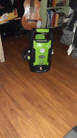 Greenworks pressure washer for Sale in Atlanta, GA
