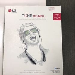 Tone Triumph Bluetooth Stereo Headset for Sale in San Angelo,  TX