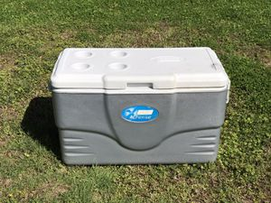 Large Coleman fishing tailgate cooler for Sale in Virginia Beach, VA
