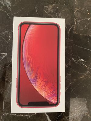 BRAND NEW IPHONE XR RED ( VERIZON ) for Sale in Washington, DC