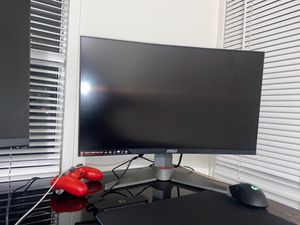 Acer 27 in 144hz and optix curved 144hz monitor BOTH SOLD Separate for Sale in Escondido, CA
