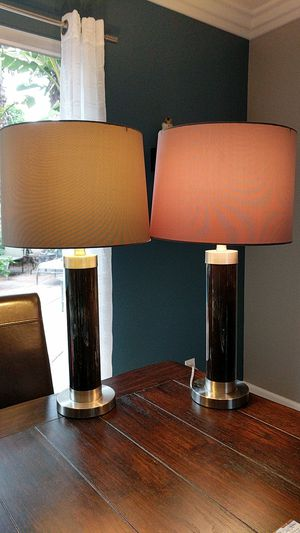 Matching set of table lamps for Sale in Mission Viejo, CA
