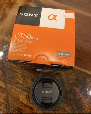 Sony Alpha camera lens for Sale in McMinnville, OR