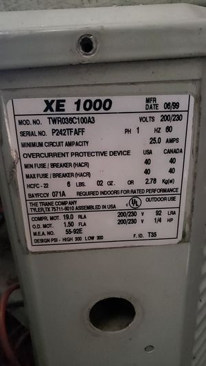 3 ton condenser R22 freon for Sale in San Antonio, TX
