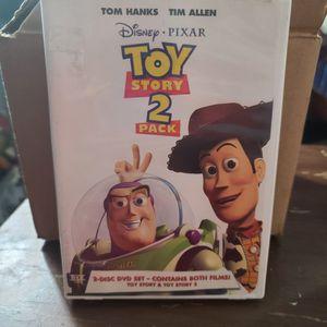 Disney Toy Story 2 Pack DVD Movie Set 1/2 for Sale in Lynwood, CA