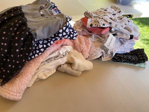 NB-3 months baby girl clothes and baby blankets. for Sale in Forest Grove, OR
