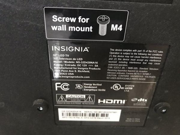 Insigna LED TV 32 inch