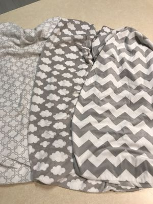 Changing Pad Fitted Covers (3 for $10) for Sale in Kissimmee, FL
