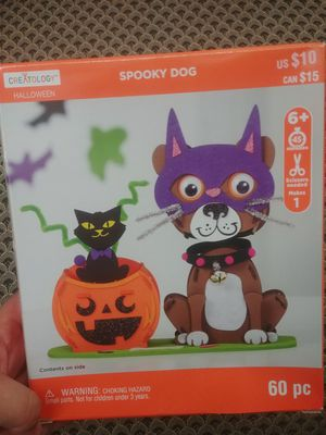 Halloween spooky dog craft kit for Sale in Houston, TX