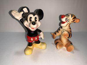 Vintage Walt Disney Productions Mickey Mouse waving Porcelain Figurine Japan for Sale in Freehold, NJ