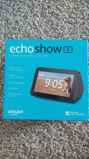 Amazon echo show 5 MRP $89.99 for Sale in Nashville, TN