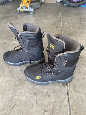 Klim Adrenaline GTX Snowmobile Boots Size 11 for Sale in Seattle, WA