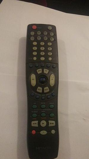 No cover Hitachi TV - DVD - VCR Remote Control - CLU-575TSI for Sale in US