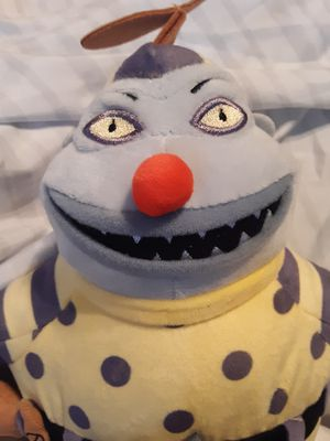 """Disney Nightmare before Christmas. """"The CLOWN """" plush doll for Sale in Rialto, CA"""