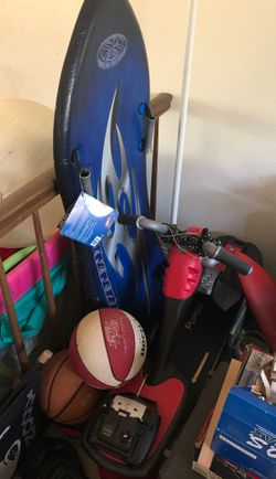Snowboarding snow boogie board and motorbike sled for Sale in Mountain View,  CA