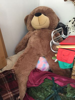 Giant California teddy bear for Sale in Springfield, VA