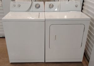 ADMIRAL BY WHIRLPOOL HEAVY DUTY WASHER AND DRYER ON SALE WITH WARRANTY AND DELIVERY AVAILABLE for Sale in Irving, TX