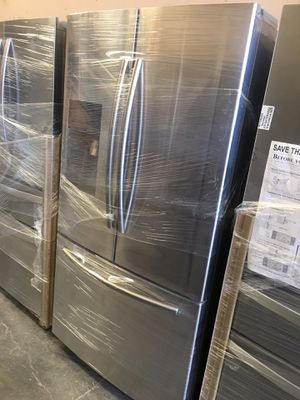 New Samsung Stainless Steel FrenchDoor for Sale in Stockton, CA