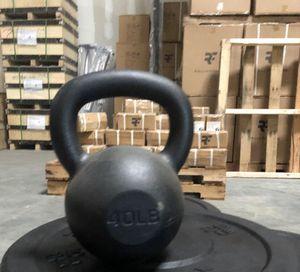 New 40lb kettlebell for Sale in Ellicott City, MD