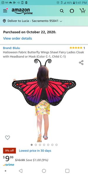 Butterfly Costume kids for Sale in Sacramento, CA