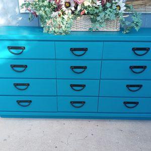 "Wood Dresser 12 Drawers""29st & Thomas Rd"" for Sale in Phoenix, AZ"