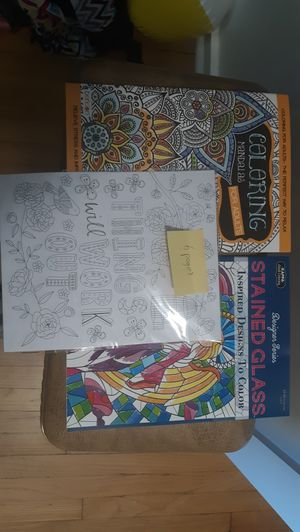 Adult coloring books for Sale in Bangor, ME