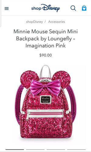 Loungefly Hot pink backpack for Sale in Altamonte Springs, FL