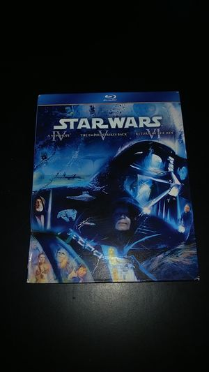 Star wars episode 4-6 bluray set for Sale in San Diego, CA
