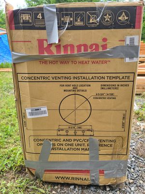 2 Rinnai Tankless gas waterheaters for Sale in Tigard, OR