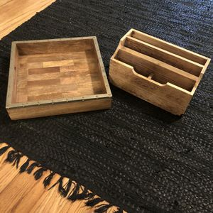 Wood Office Organizers for Sale in Chicago, IL