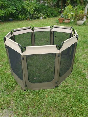 Portable dog enclosure & agility starter kit for Sale in Miami, FL