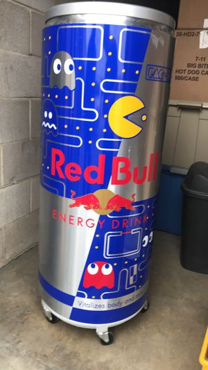 Red Bull cooler /pac man Edition for Sale in San Antonio, TX
