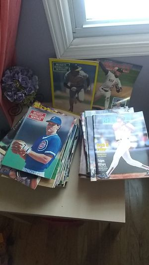 BASEBALL MAGAZINE BOOKS for Sale in Palatine, IL