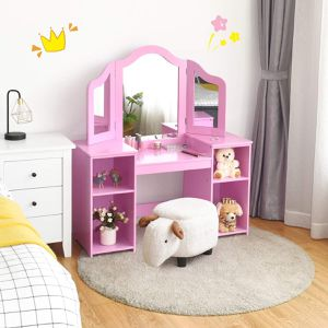 NEW Christmas Gift Kids Vanity Dressing Table for Sale in Irwindale, CA