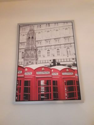 Canvas Photo of London Telephone Booths for Sale in Tampa, FL