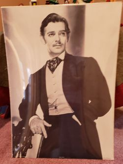 Clark Gable Movie Still Litho Poster 1981 Ascot SU053, Portal Publications for Sale in Fairlawn,  OH