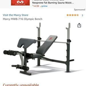 MARCY OLYMPIC BENCH PRESS for Sale in Buena Park, CA