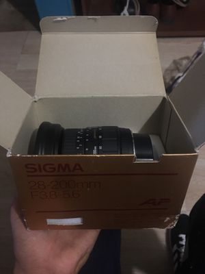 Sigma camera lens for Sale in Tempe, AZ