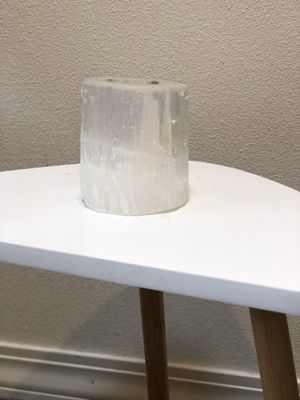 Crystal candle holder for Sale in Portland, OR
