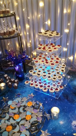 Cake, cupcake, dessert stand. Used only once. $25 for Sale in Escondido, CA