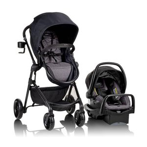Evenflo Stroller System in Black/Gray for Sale in North Chesterfield, VA