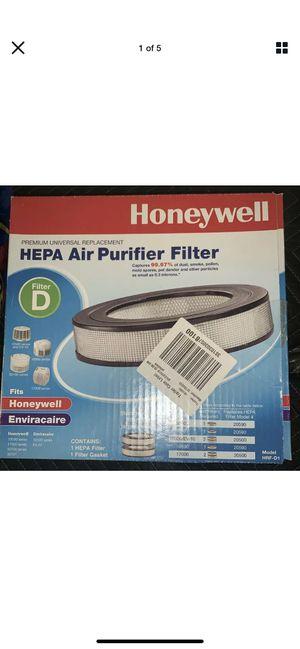 Honeywell Hrf-d1 HEPA Replacement Air Purifier Filter D for Sale in Las Vegas, NV