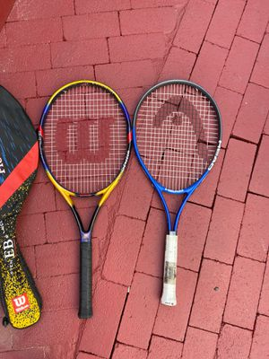 Two tennis rackets for Sale in Long Beach, CA