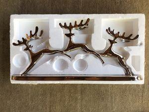 Reindeer candle holder centerpiece for Sale in Phoenix, AZ
